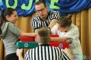 IV Międzygimnazjalny Turniej w siłowaniu na ręce: Kategoria dziewcząt prawa ręka open