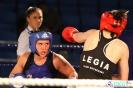 Półfinały 13. Mistrzostw Polski Kobiet w Boksie kategoria 75 kg: Lidia Fidura (GUKS Carbo Gliwice) - Wioleta Michalska (Legia Warszawa) RSC 4